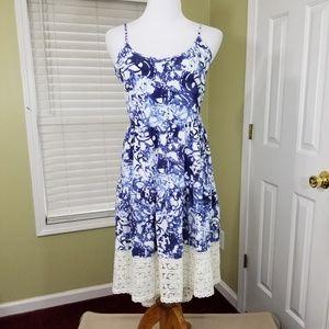 NWT Peter Som high low  sleeveless dress.